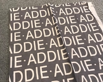 ADDIE baby blanket EXTRA discounted item PETUNIAS by Kelly