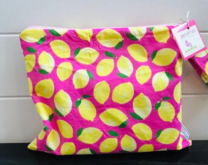 Wet Bag wetbag Diaper Bag ICKY Bag wet proof pink yellow lemon gym bag swim cloth diaper accessories zipper gift newborn baby kids beach ba