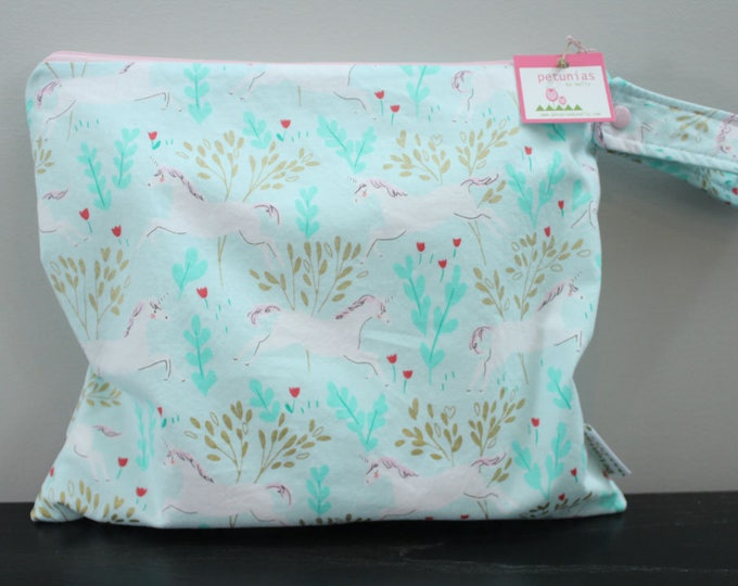 Wet Bag wetbag Diaper Bag ICKY Bag wet proof unicorn gym bag swim cloth diaper accessories zipper gift newborn baby kids beach bag