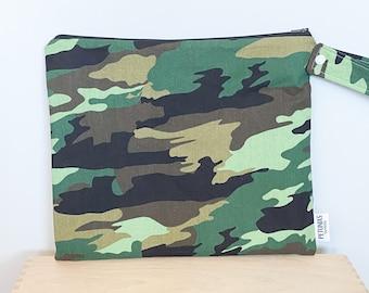 Wet Bag wetbag Diaper Bag ICKY Bag camo wet bag cosmetics toiletries gym bag swim cloth diaper accessories zipper gift baby kids