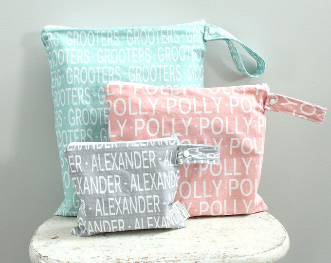 The ICKY Bag - PETUNIAS by Kelly - personalized