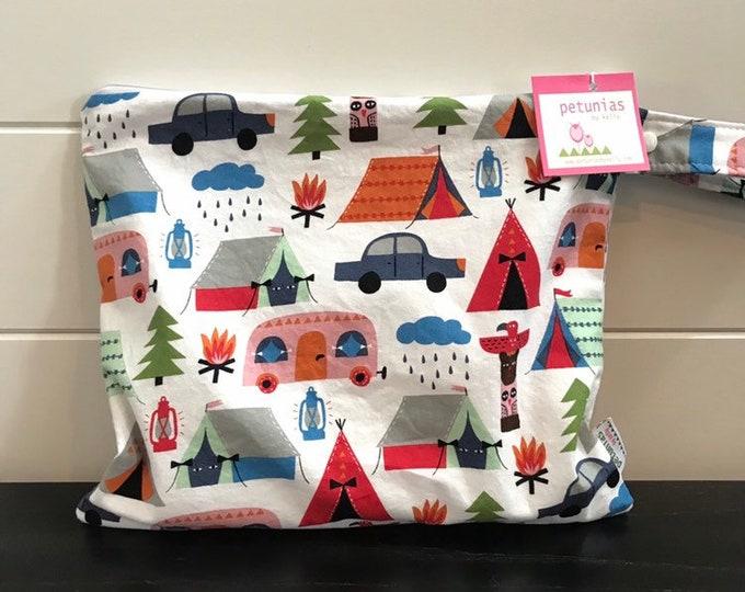 Wet Bag wetbag Diaper Bag ICKY Bag wet proof camping gym bag swim cloth diaper accessories zipper gift newborn baby kids beach