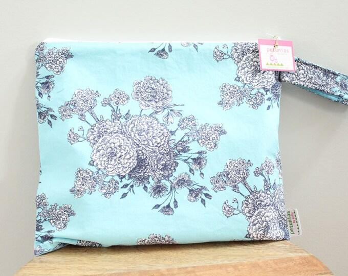 Wet Bag wetbag Diaper Bag ICKY Bag wet proof flower blue gym bag swim cloth diaper accessories zipper gift newborn baby child kids summer