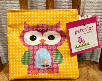 Reusable Little Snack Bag - pouch adults kids animals eco friendly by PETUNIAS