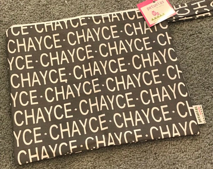 CHAYCE  ICKY Bag grey extra discounted item PETUNIAS by Kelly