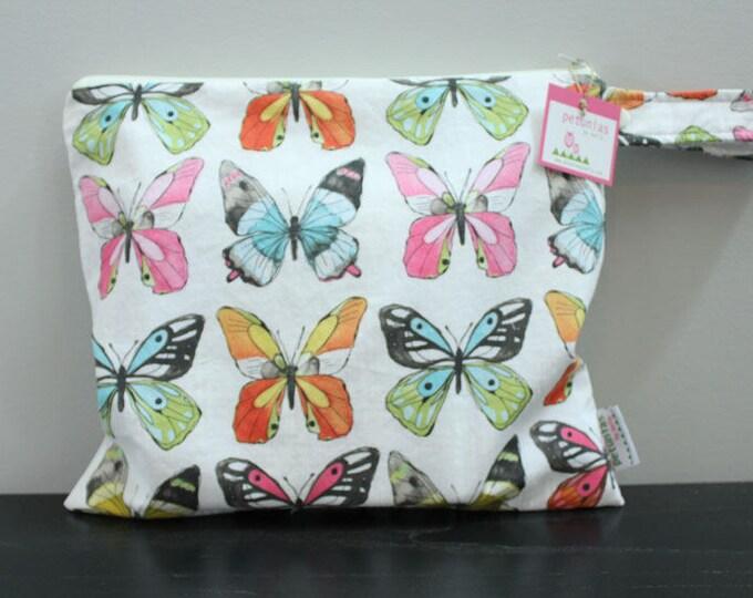 Wet Bag wetbag Diaper Bag ICKY Bag wet proof butterfly gym bag swim cloth diaper accessories zipper gift newborn baby kids beach bag