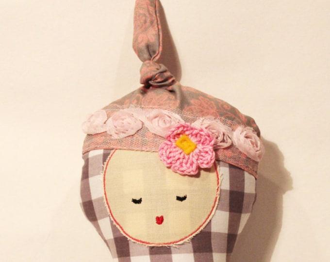 Sale MINI Baby Doll stuffed rag doll first birthday gift kids kid girl baby soft cloth toy fabric soft cute stuffed modern ready to ship