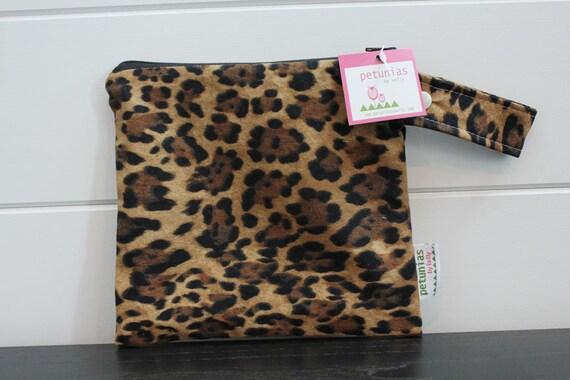db7d2ff87d wetbag wet bag The ICKY Bag petite leopard print modern baby