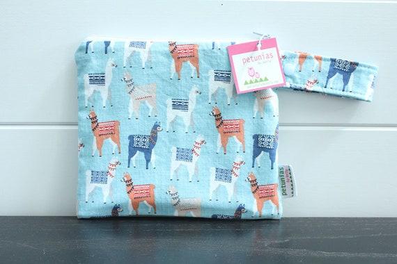 2ef2fd4cf7 Wetbag wet bag The ICKY Bag petite blue llama alpaca modern