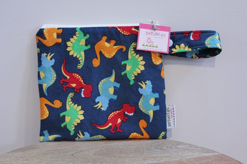 9801616b04 Wetbag wet bag The ICKY Bag petite cosmetic dinosaur baby gift