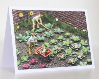 035 - from the cabbage patch - greeting card