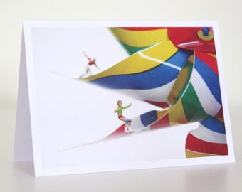 037 - spin spin spin - greeting card