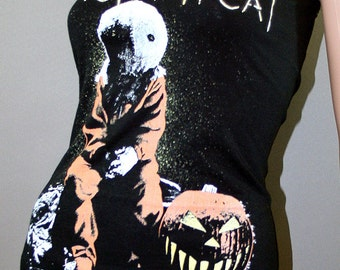 Trick 'R Treat Sam Horror Movie Halloween Tank Top Dress