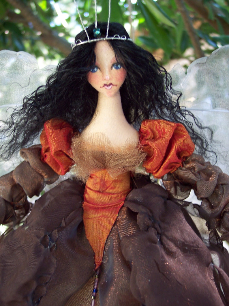 Digital Sewing Pattern Faerie Queen Maeve Cloth Doll PDF Download Fairy Godmother Paula McGee Sewing Tutorial Fairy Gifts Dolls To Make