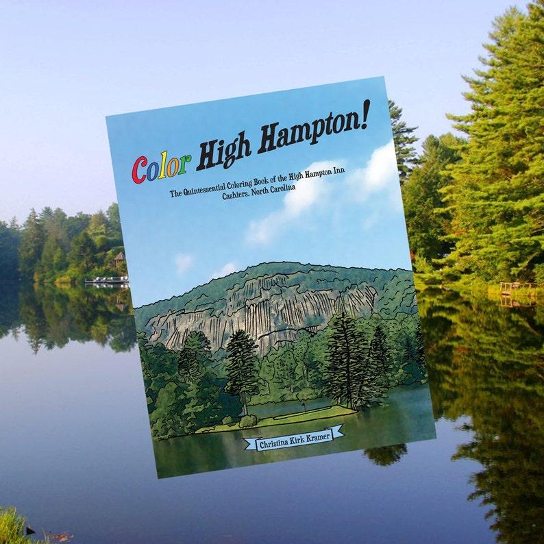 Color High Hampton Adult coloring book/ kids coloring book of image 0
