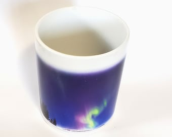 Northern Lights, Color changing mug, heat activated