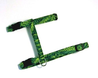 Paws 'n Tails Cat Harness ... Rainforest