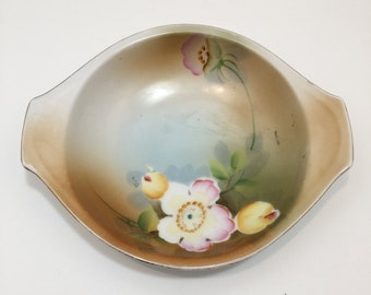 Lovely Meito China Nippon Floral Bowl