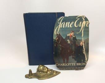 1943 Vintage Book Jane Eyre by Charlotte Bronte