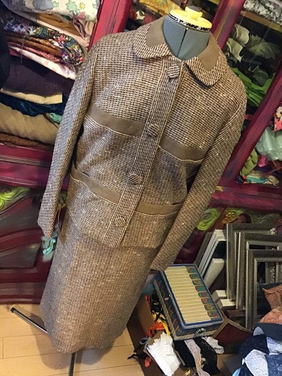 1960's wool tweed suit