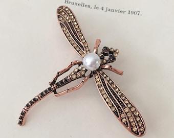 2584b15556740 Dragonfly pin   Etsy