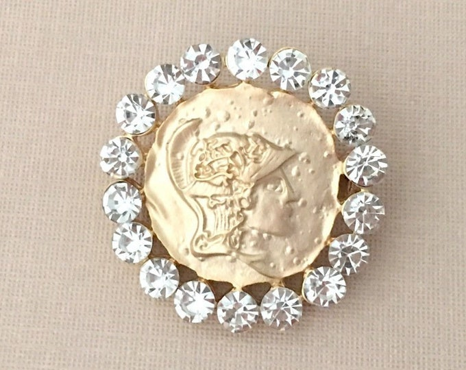 Gold Coin Pin (Brooch)