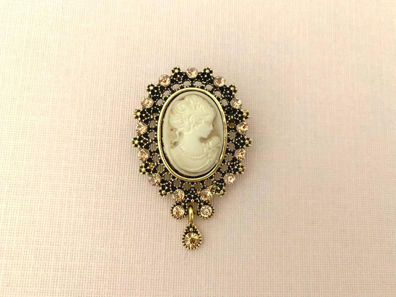 Crystal Imitation Pearl Cute Swan Brooch Matte Wedding Party Brooch Pin Fashion