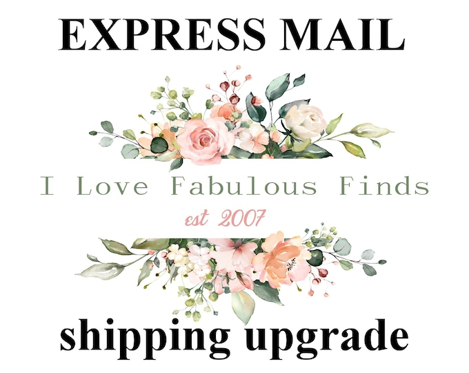 EXPRESS SHIPPING UPGRADE.United States Only.Faster shipping.Weddings,Hair Flower,Hair Accessory & more