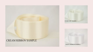 Double Faced Satin Ribbon SWATCHESSAMPLES.Satin Ribbon Swatch.CHOOSE Your Color.Blush Pink,Ivory,Cream,White,Navy,Beige,Moss Green