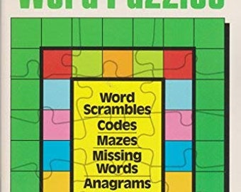 Vocabulary Building with Word Puzzles-Paperback Workbook