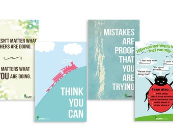 "Growth mindset Sharp Student Inspirational Classroom Teacher Poster nursery train quote educational 11x17"""