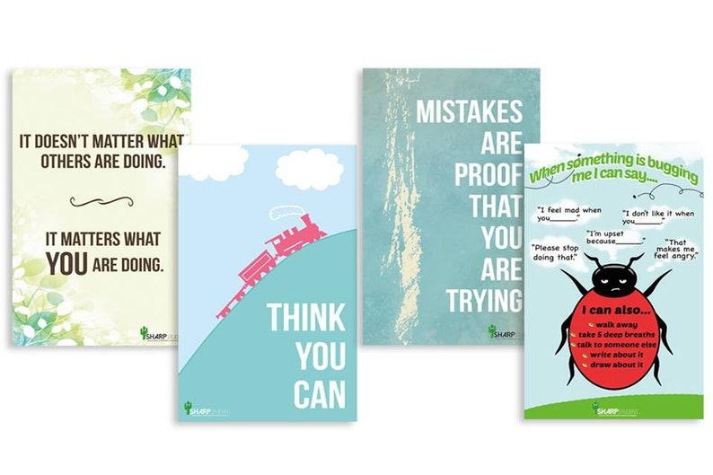 Growth mindset Sharp Student Inspirational Classroom Teacher image 0