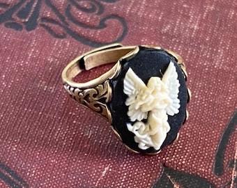 Angel Cameo Ring