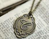 Letter C Necklace