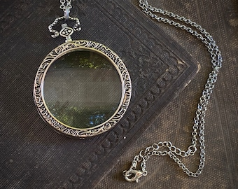 Magnifying Lens Necklace