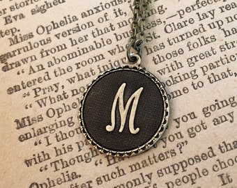 Initial Necklace- Pick a Letter and Metal