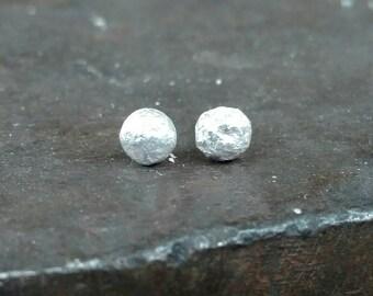 Molten -  sterling silver studs