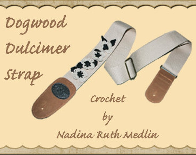 Custom-Made Mountain Dulcimer Dogwood Strap