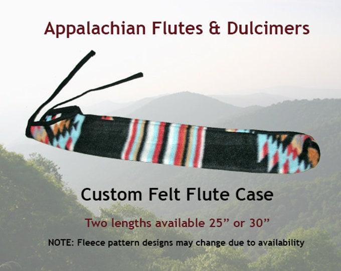 Appalachian Flute Custom Felt Case
