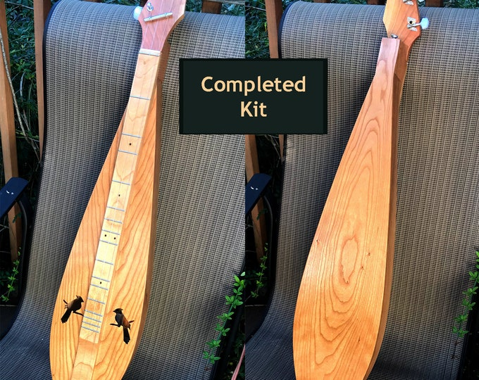 All New Dulcimer Kit (Complete) Virginia Tear-Drop