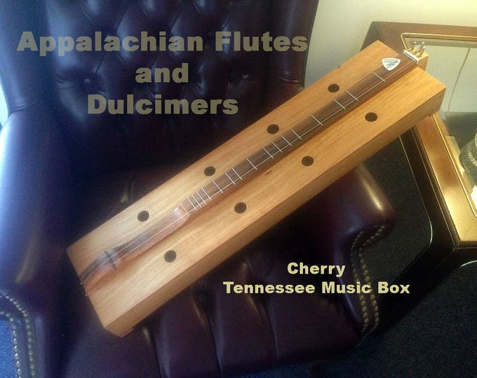 Box Dulcimer - Tennessee Music Box with choice of wood types