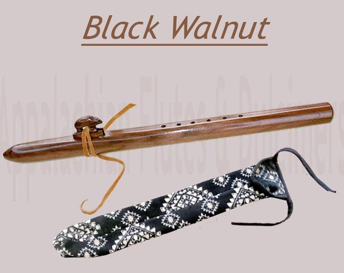 Appalachian Flute - Walnut, with Case. Item# W020