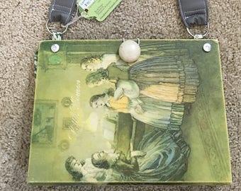 Little Women by Alcott Hardback book PURSE one of a kind by GmaJanisew