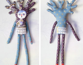 Elsa of woods / Puppet