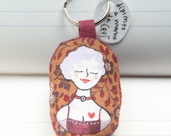 Dana  (Vintage tattoo PUPI keychain for adults)