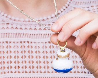 Into the deep _ Freeyourdreams _ Knob necklace / HAIKU series