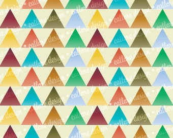 """Printable Paper - """"Autumn Approaches"""" (Triangles)"""