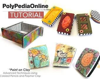 Polymer Clay Tutorial, Polymer Clay Jewelry, Polymer Clay Ring, Polymer Clay Bracelet, Polymer Clay Necklace, Liquid Clay, PDF, Iris Mishly