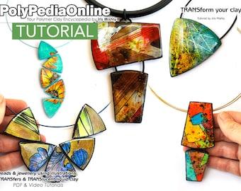 Polymer Clay Tutorial, Polymer Clay Jewelry, Polymer Clay Beads, Polymer Clay Necklace, Liquid Polymer Clay, Polymer Clay Pendant Tutorial
