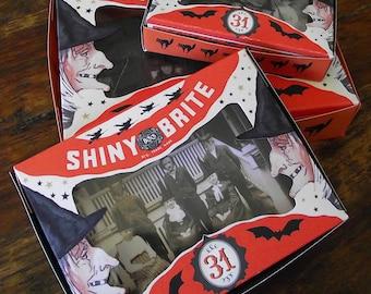 Set Of Three handmade halloween boxes